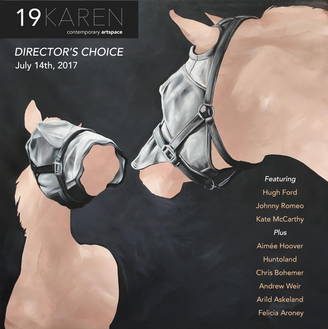 Director's Choice Exhibition - July 201719KAREN ArtspaceAustralia19karengallery.com