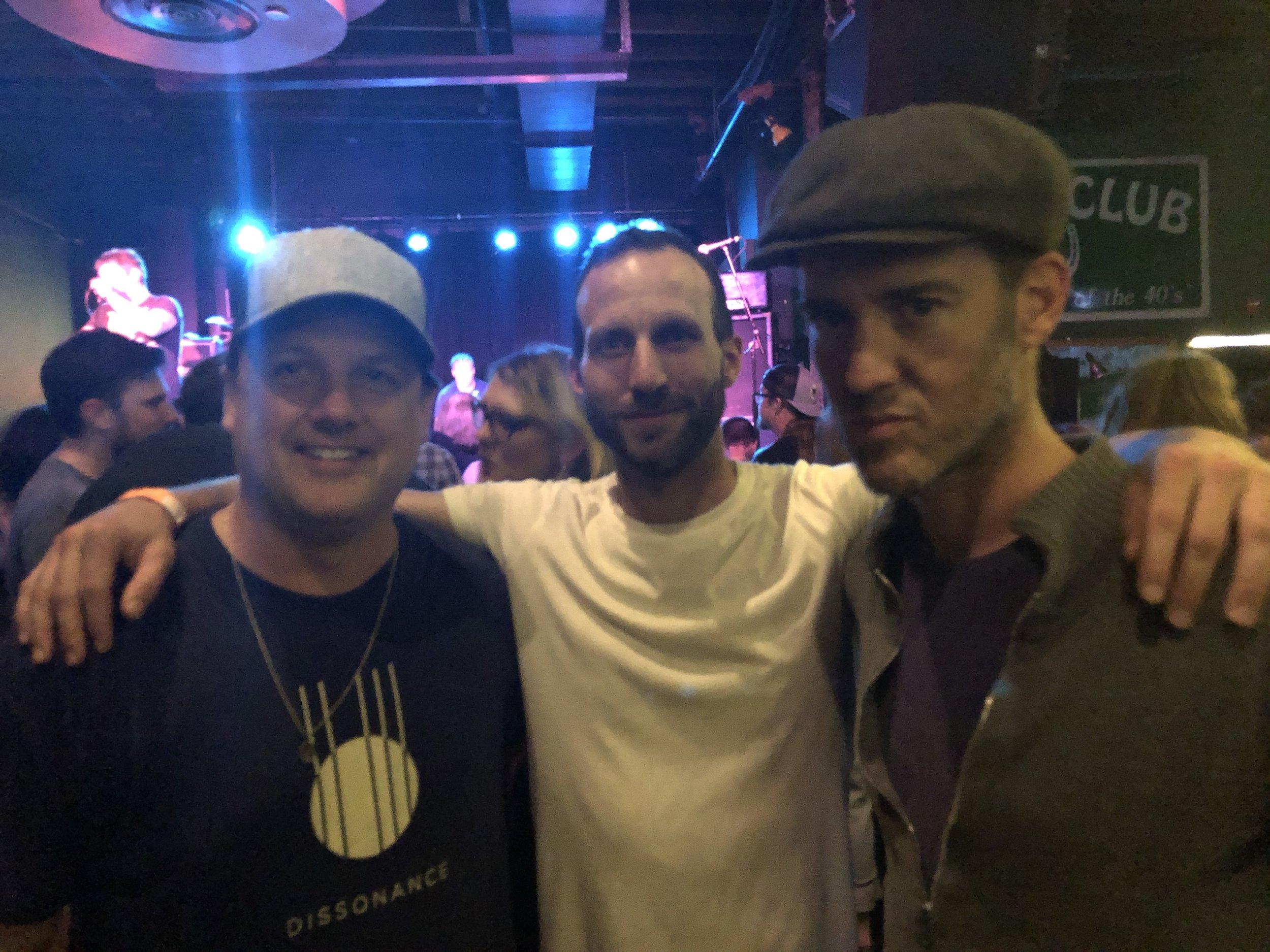 Jeremiah Gardner, Matthew Tompkins, Chris Tait