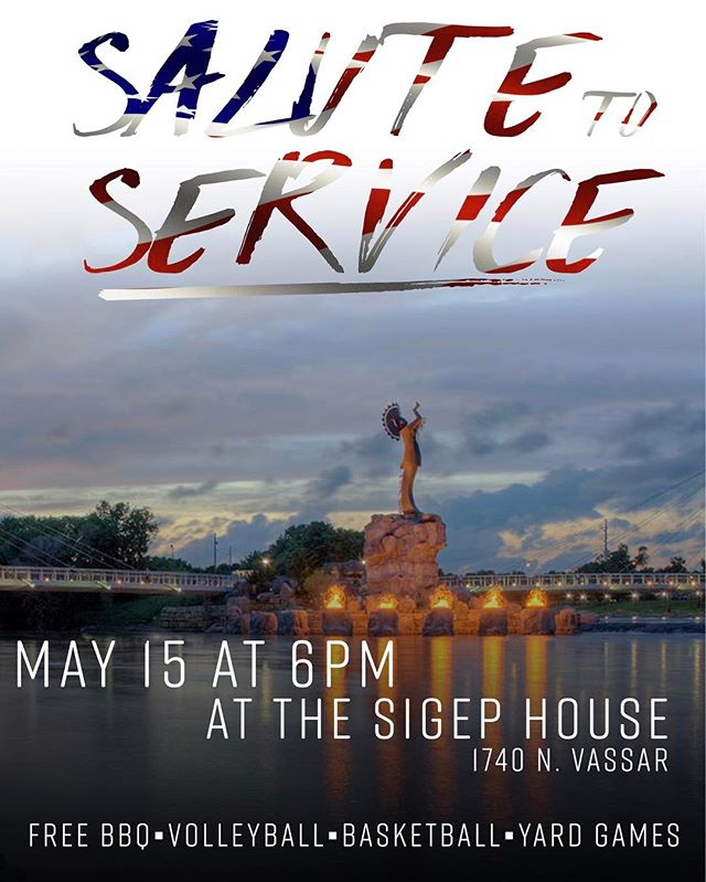 Come out to SigEp May 15 to thank our local/university police department and fire department for their daily service! Should be a fun night..invite your friends!!