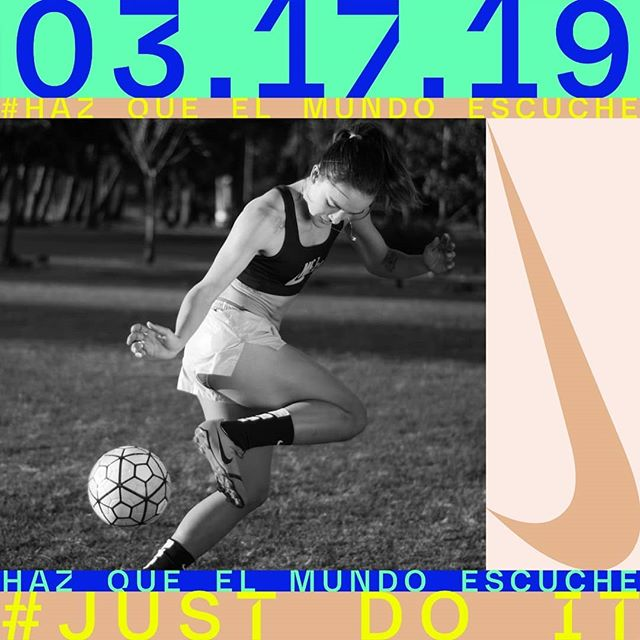 Me uní con #NikeCostaRica para mostrarle al mundo con mis fotos,  lo poderosas que son las mujeres.  Vamos a celebrar el Día Internacional de la Mujer en un sesión de entrenamiento increíble.  Que no se les olvide inscribirse en www.nikecostarica.com  Información que deben saber:  Domingo 17 de marzo 8:04am Estadio Nacional de Costa Rica  En la foto @meli_7herrera