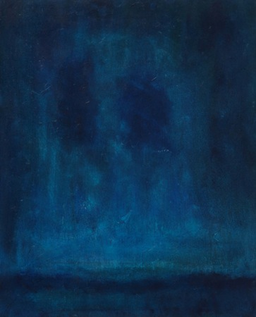 Blue Midnight 30 x 24 OiL On WOOD<br>Sold