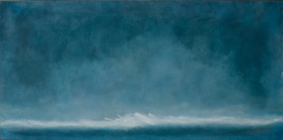 Vernal Wave 24 x 48 Oil on Wood<br>Sold