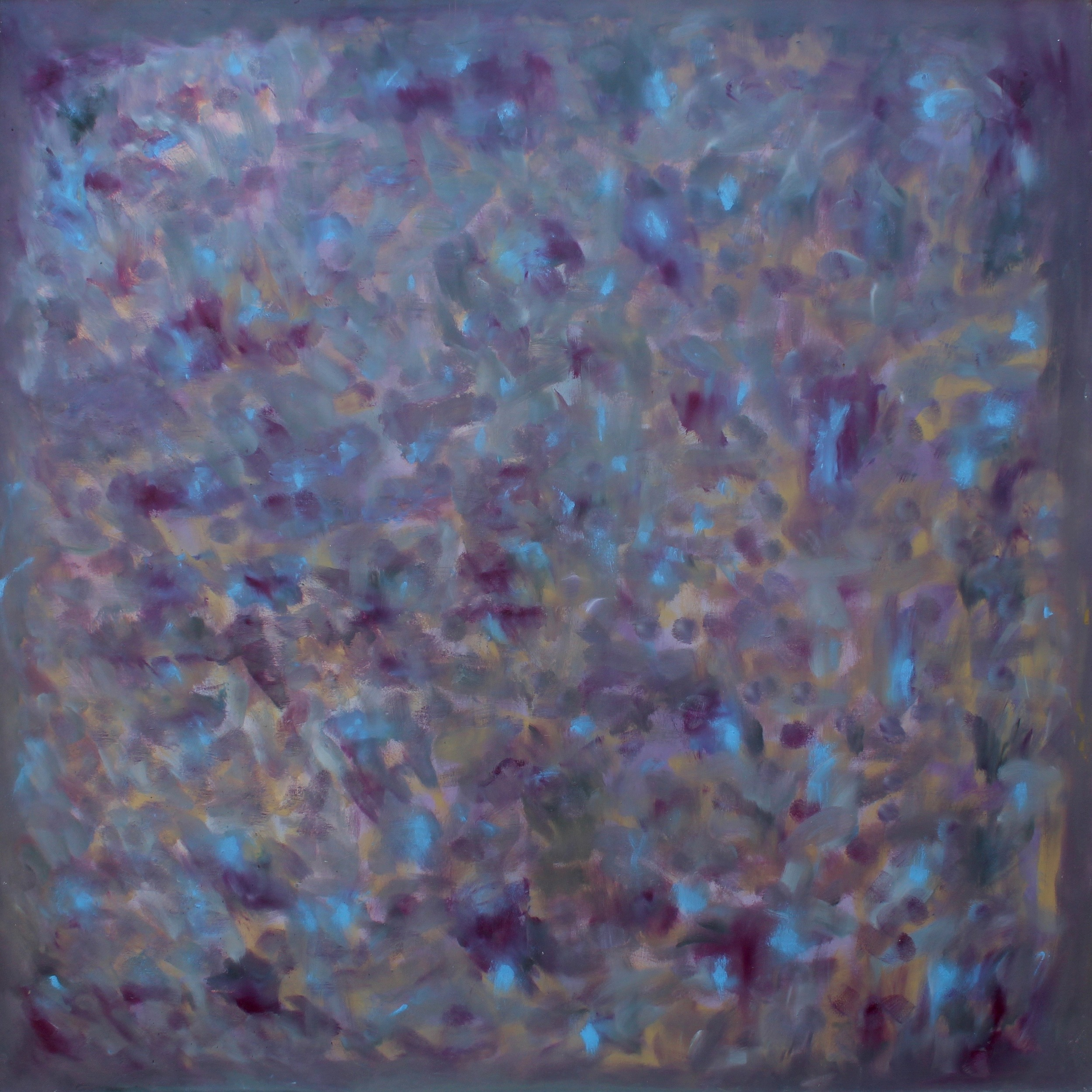 Purple Haze 60 x 60 Oil On Canvas