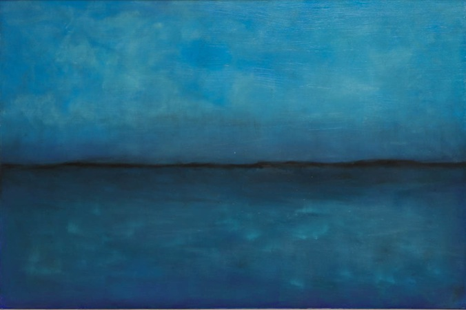 Almost One 60 x 40 Oil on Linen<br>SOLD