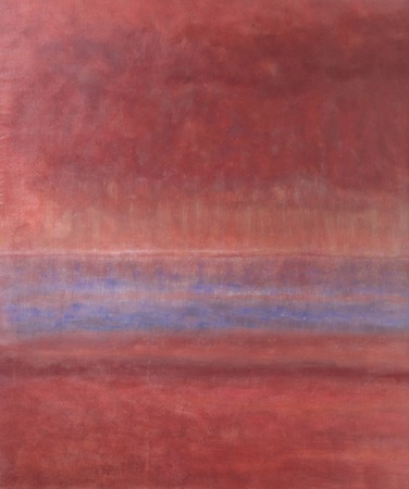 Velvet Twilight 72 x 64 Oil on Linen<br>SOLD