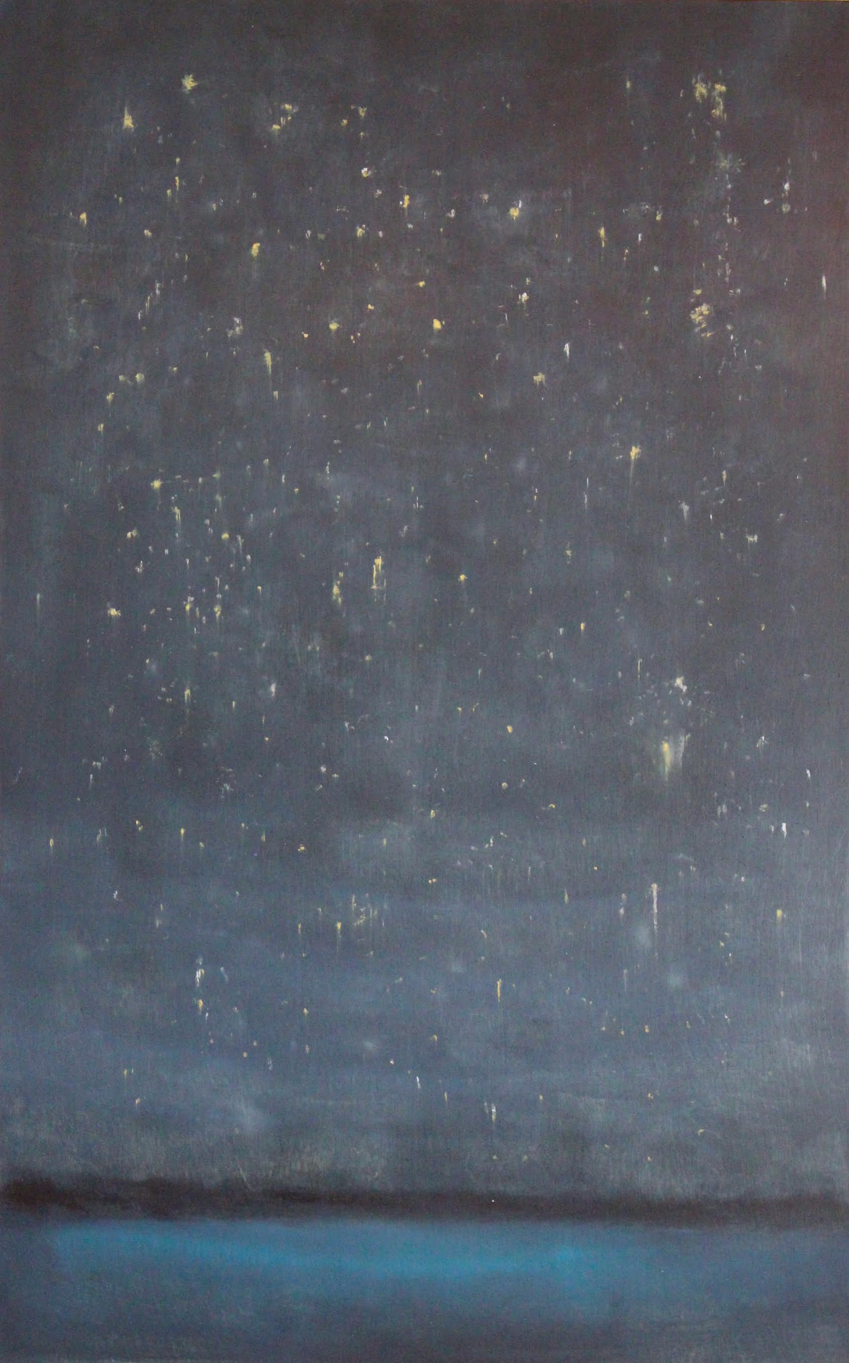 STARBRIGHT 60 X 40 OIL ON WOOD<br>SOLD