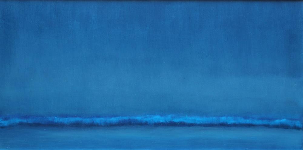 Midnight Wave 30 x 60 OIL ON LNEN<br>Sold