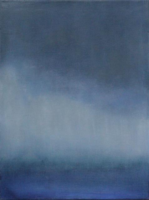 True Blue II  18x24  oil on linen