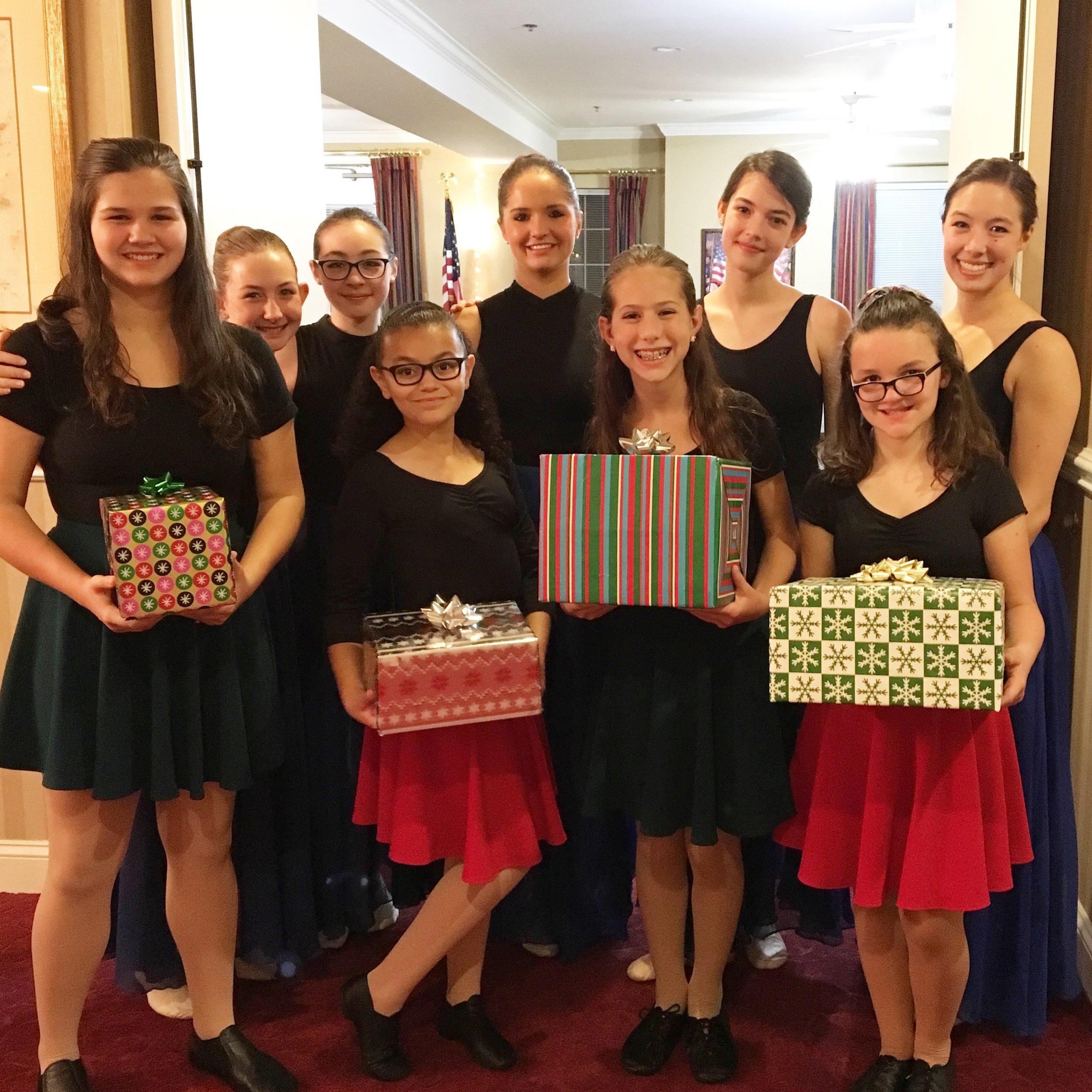 Christmas time… - 2017: Pre-Company 1 performing