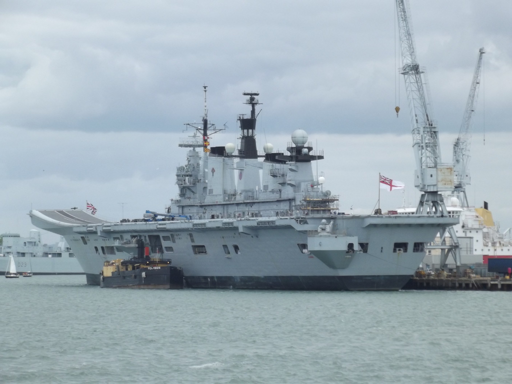 HMS Queen Elizabeth infiltrated by drone user.