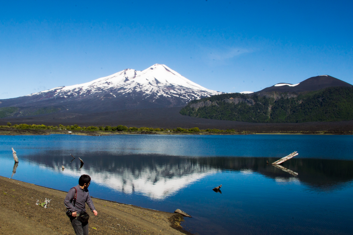 There is nothing Felipe likes more than the nature of Chile.