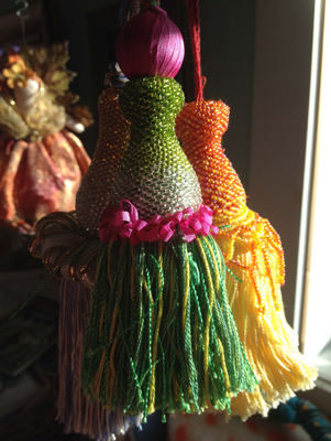 tassels - watermelon and orange.jpg