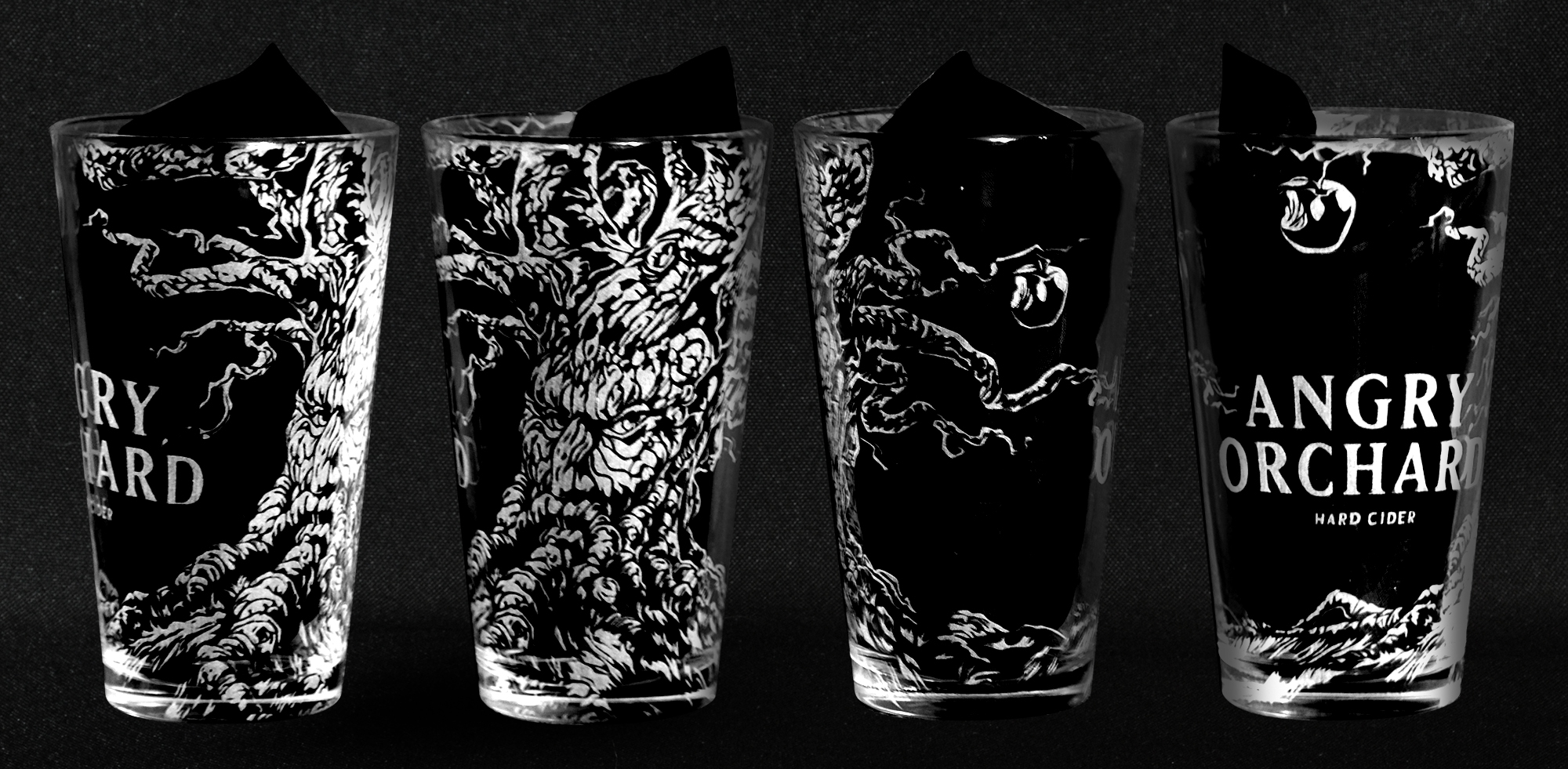 Once the design work is complete, the template goes into the laser and it will engrave the design we have completed for you.This image is not a render approximation, it is an actual glass that was photographed. Most customers note how much more amazing the glasses look in person as the photos can never quite do them justice.