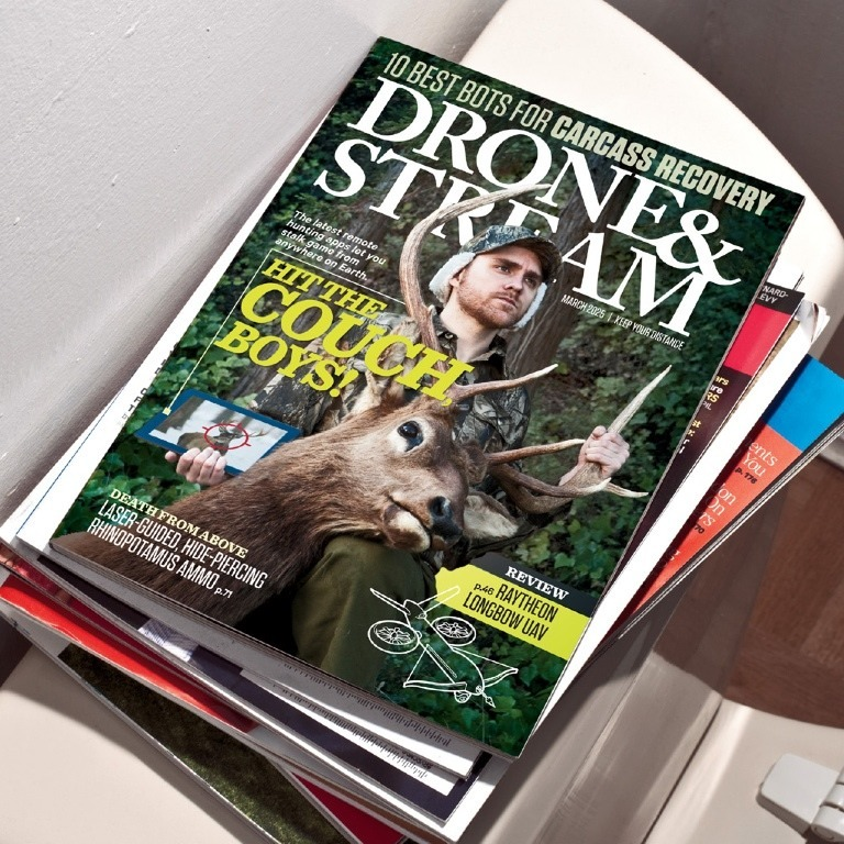 Published Work: Wired Magazine - Found: The Future of Hunting
