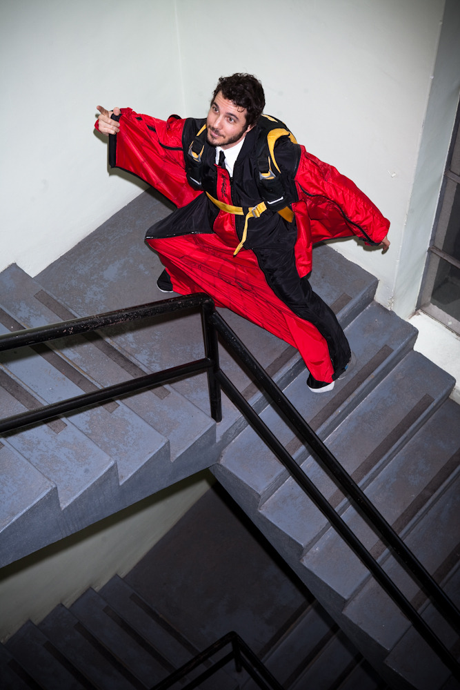 Wired Magazine: Wingsuit!