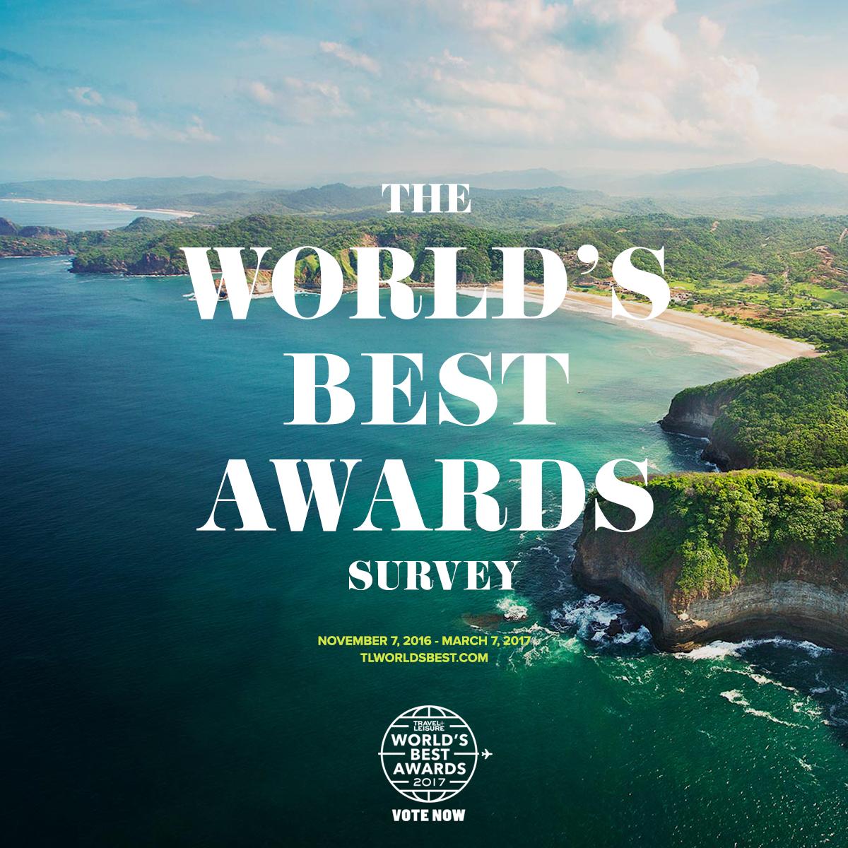 Travel & Leisure Award 2017