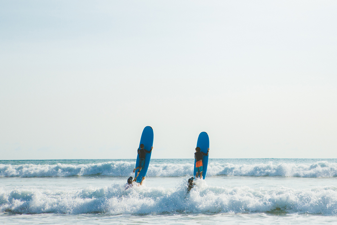 surf getaway package