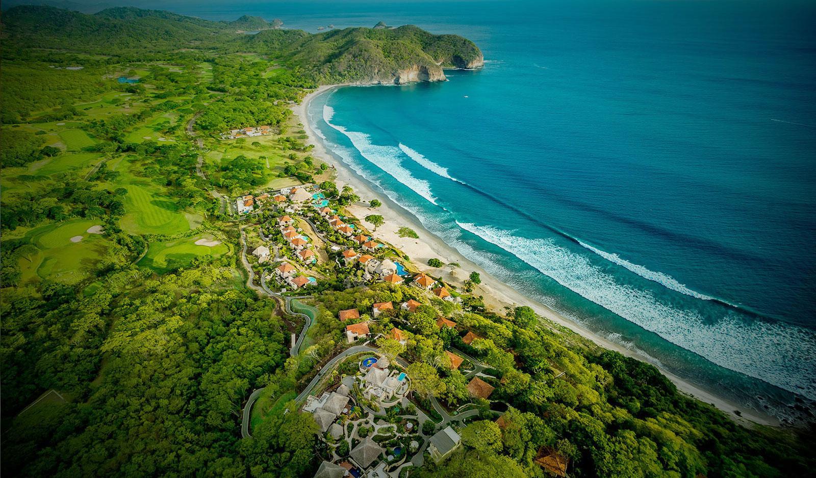 Aerial view of Mukul Resort