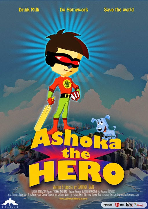 Ashoka the Hero is a full length 2D feature length animation and was sound designed and final mixed at SDS.