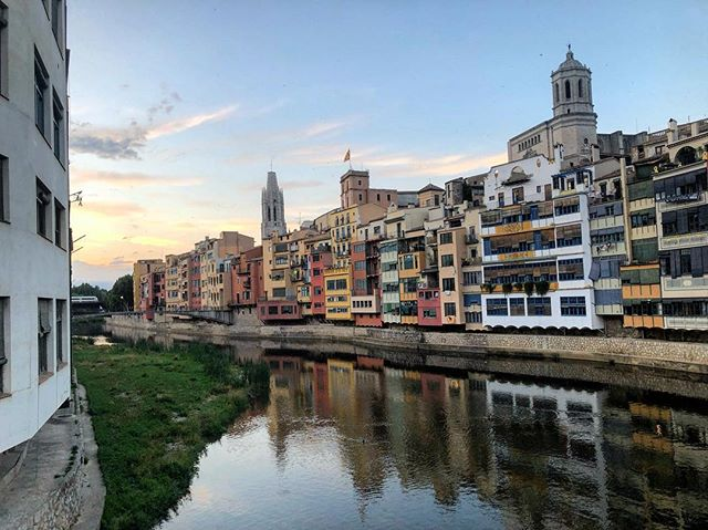 Girona. 40+hr door to door but totally worth it. #girona #spain