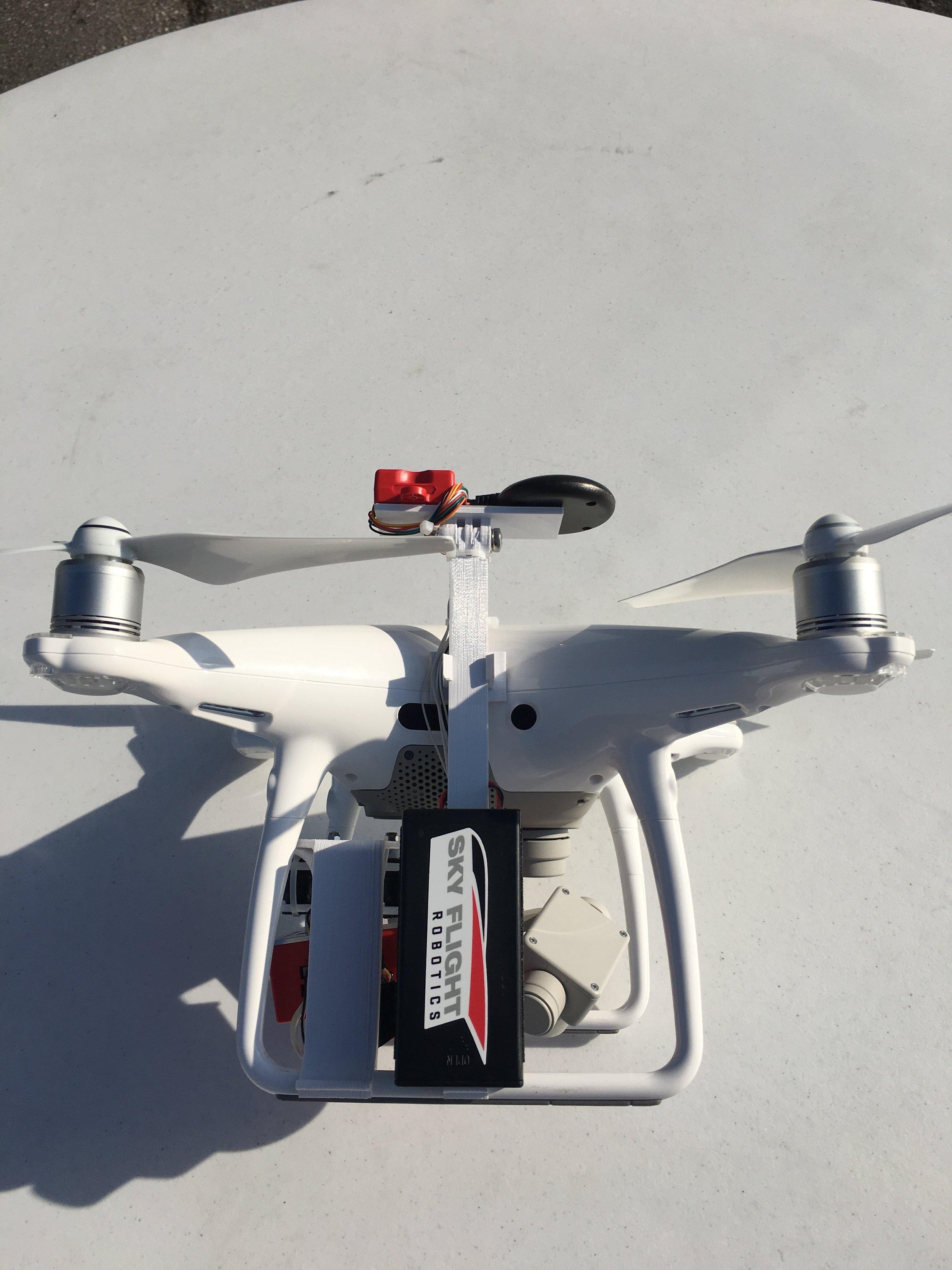 Phantom 4 RedEdge Mount Kit — Sky Flight Robotics