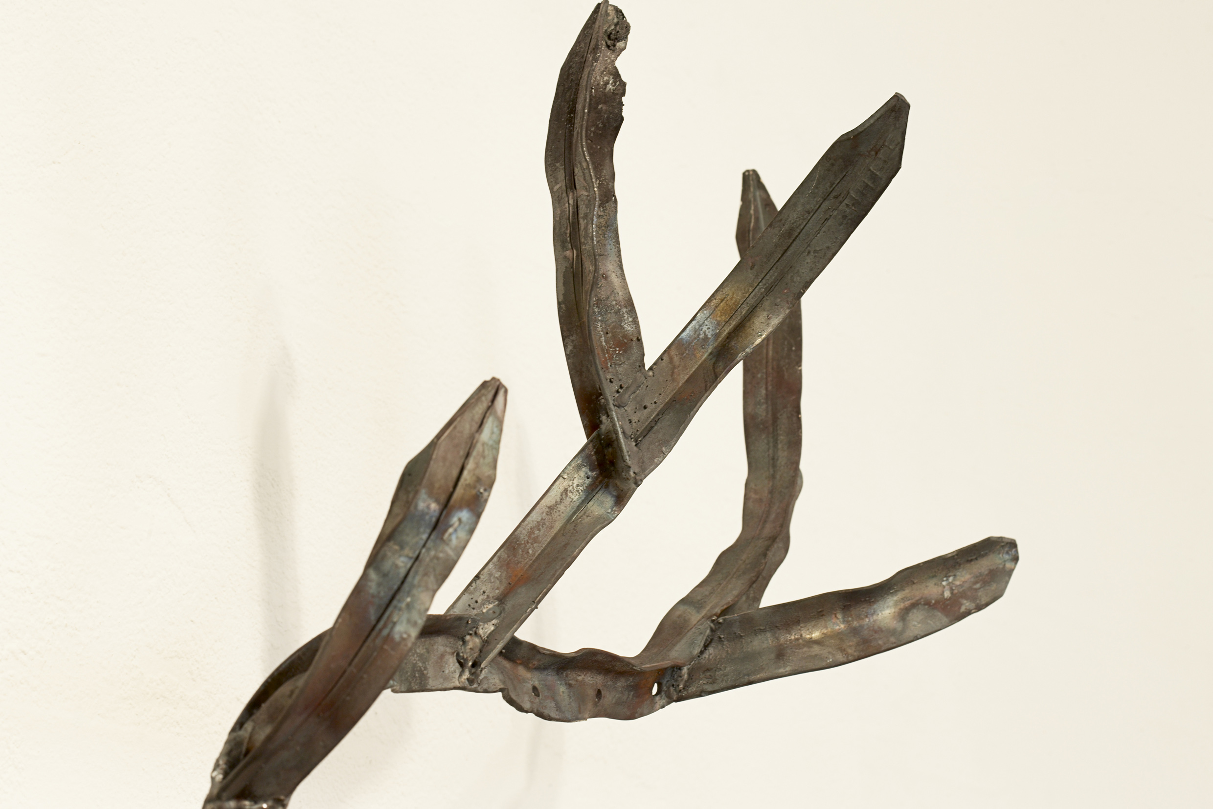 Territory Marker, 2009 Steel, Star Pickets 88 x 165 x 43 cm