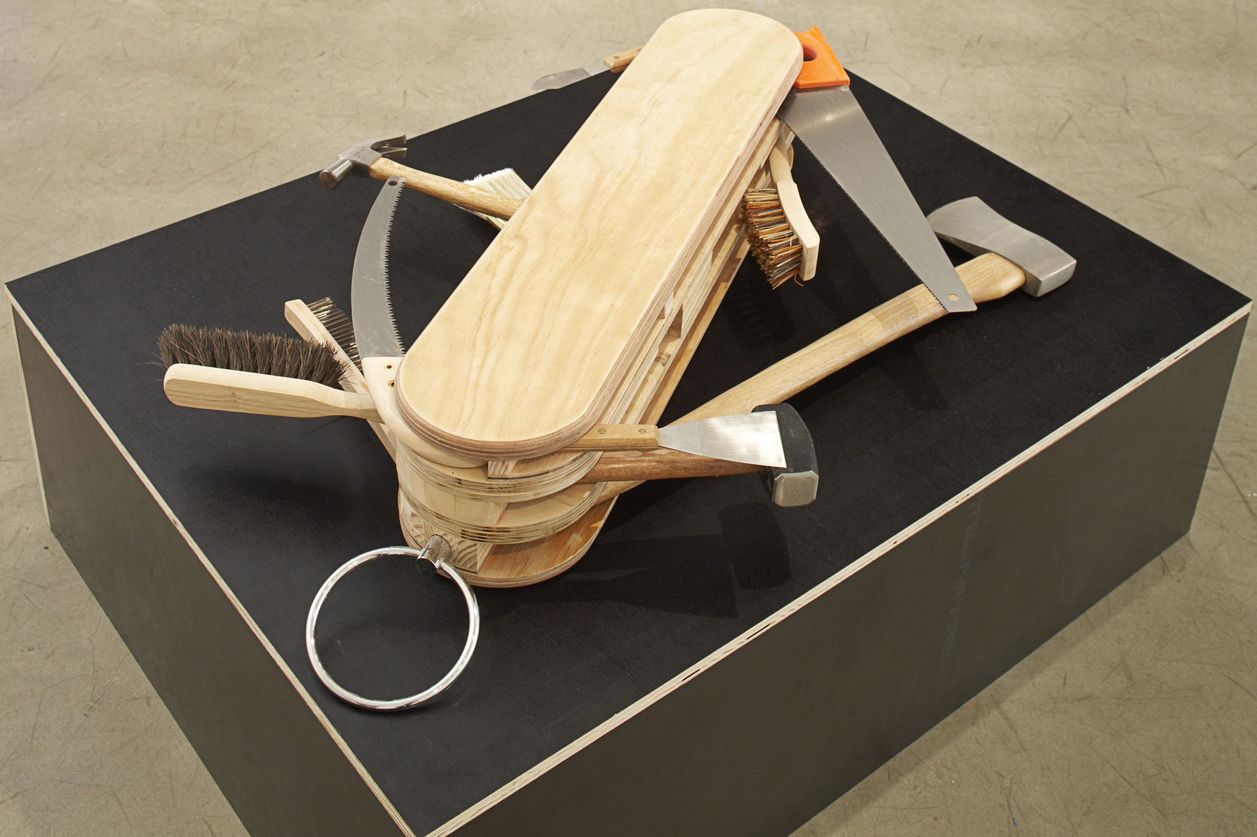 You Tool, 2008 Mixed Media 18.5 20 x 105 cm closed Dimensions Variable