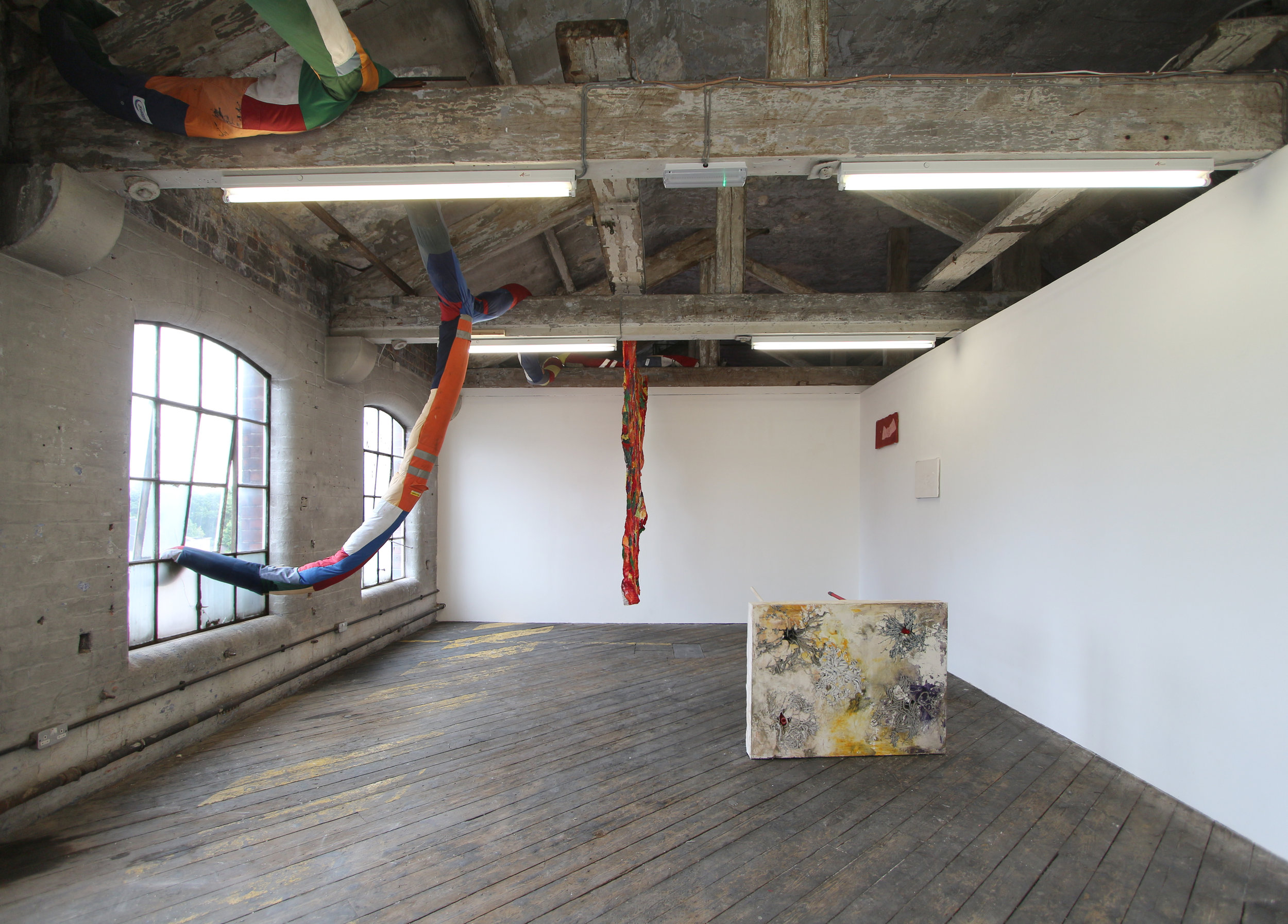 Install Shot Of Sophie Giller: New Work, One Thoresby Street Attic, Nottingham, July 2017