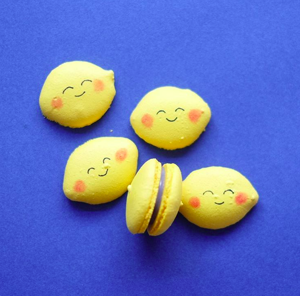 Lemon Macarons   When life gives you lemons, make lemonade.  When times are testing all your limits, turn it into something
