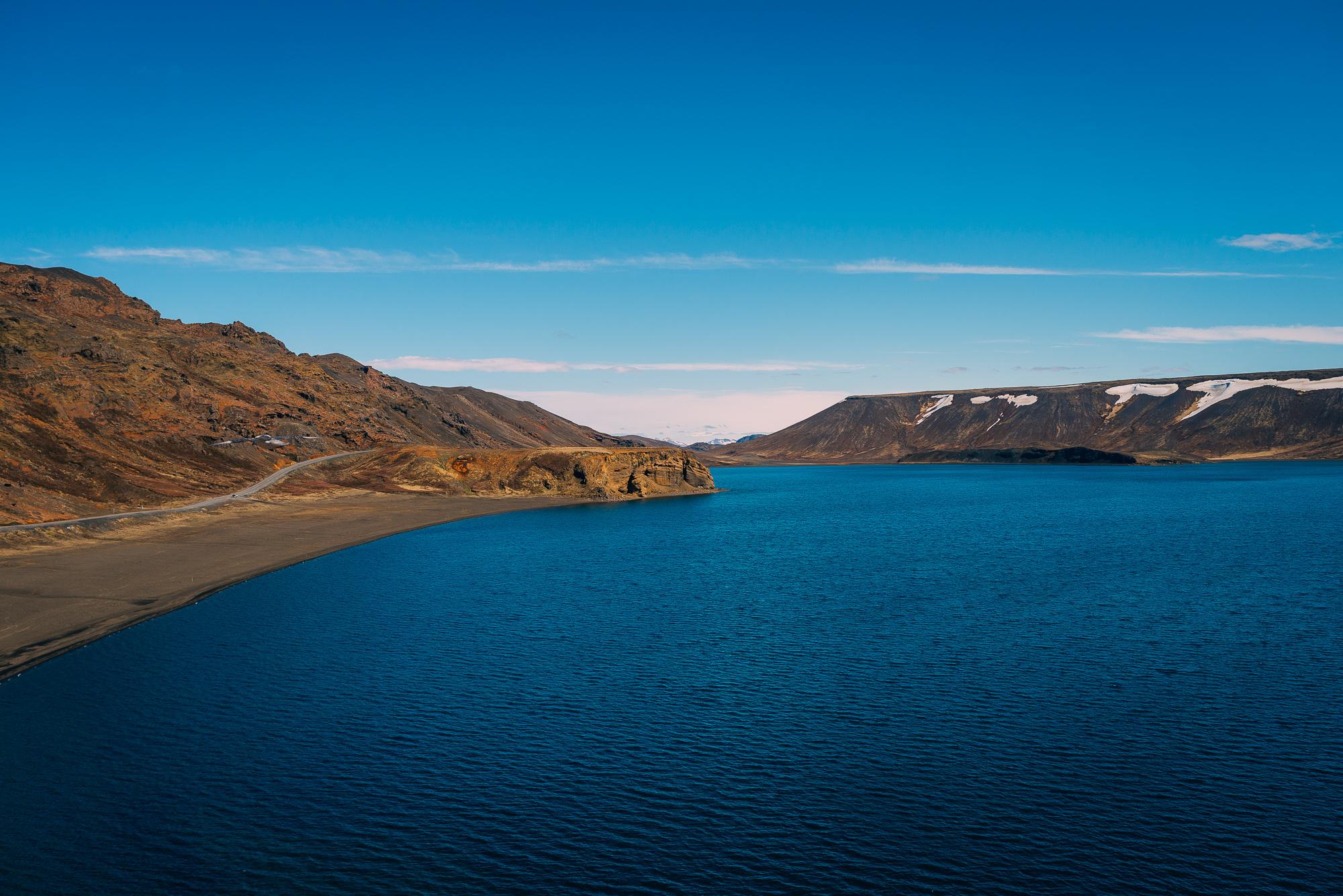 Lake Kleifarvatn.