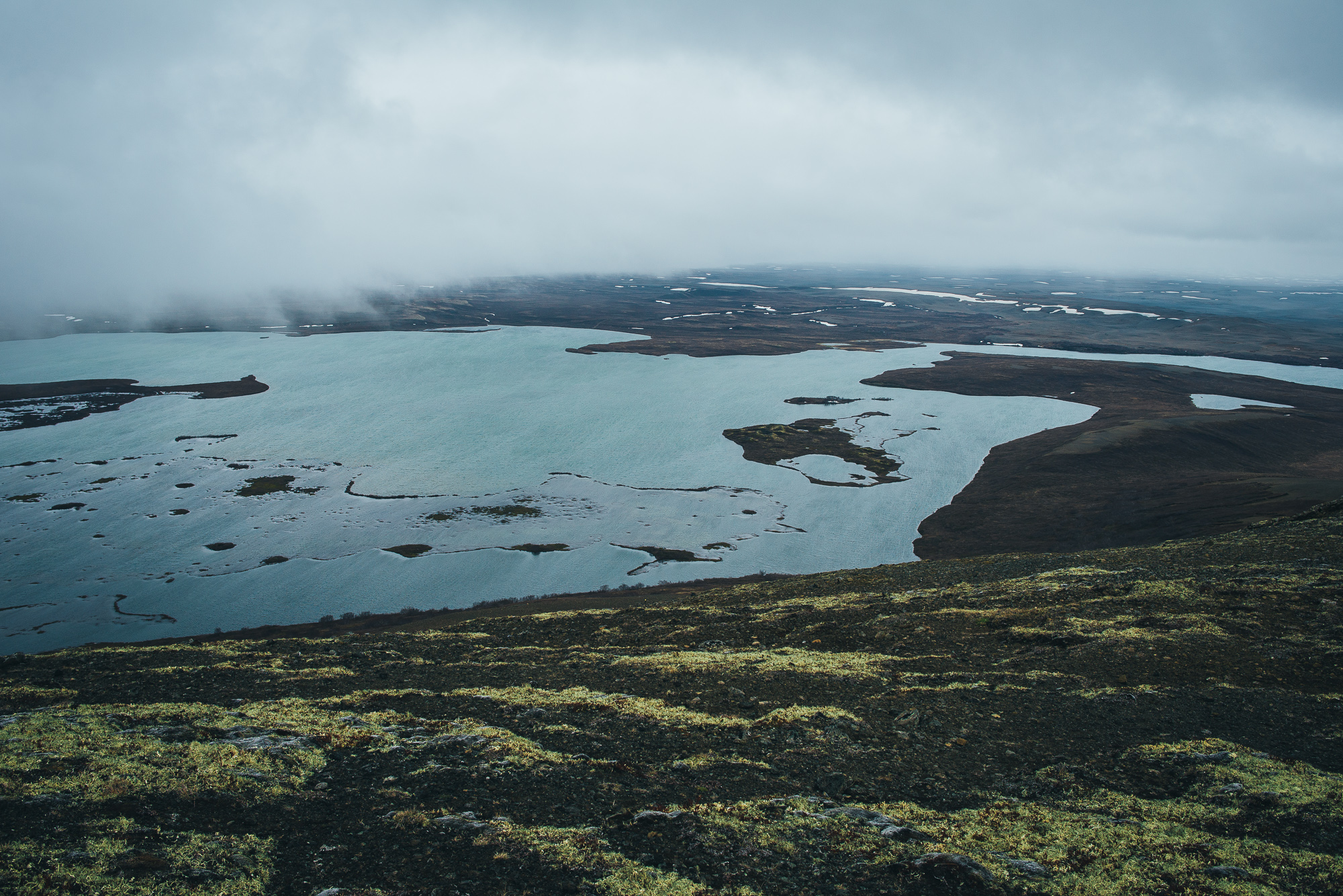 View from Vindbelgjarfjall.
