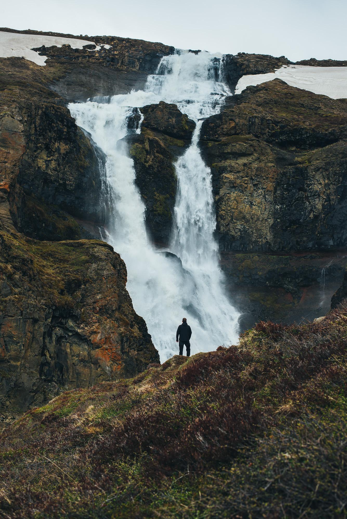Rjukandi waterfall.