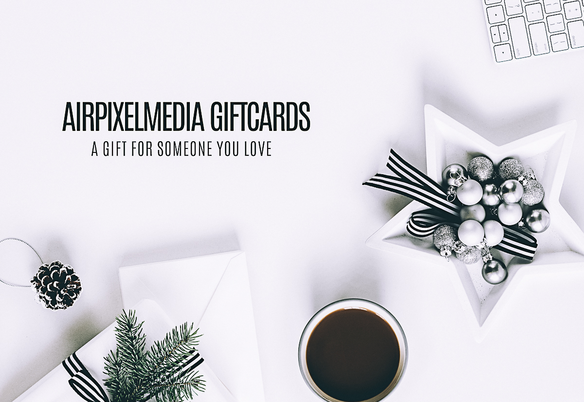 An Airpixelsmedia Giftcard