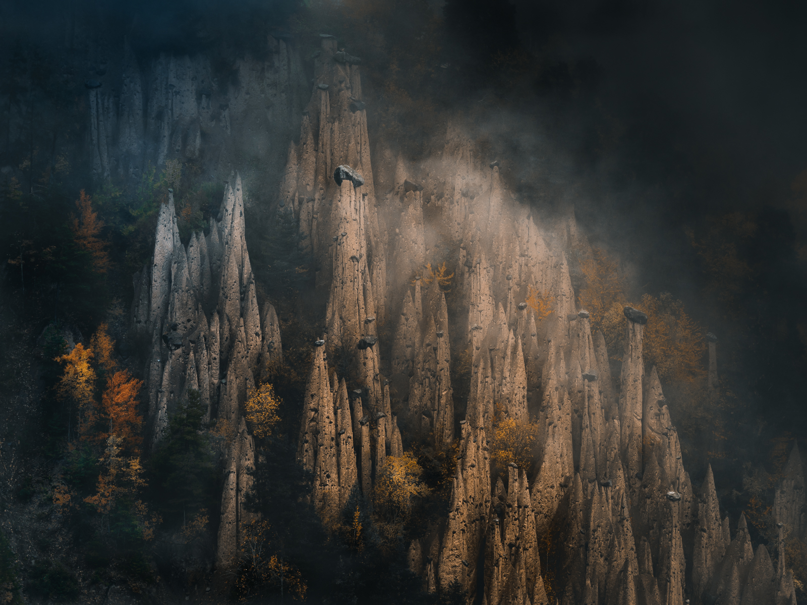 Earth Pyramids of Dolomites