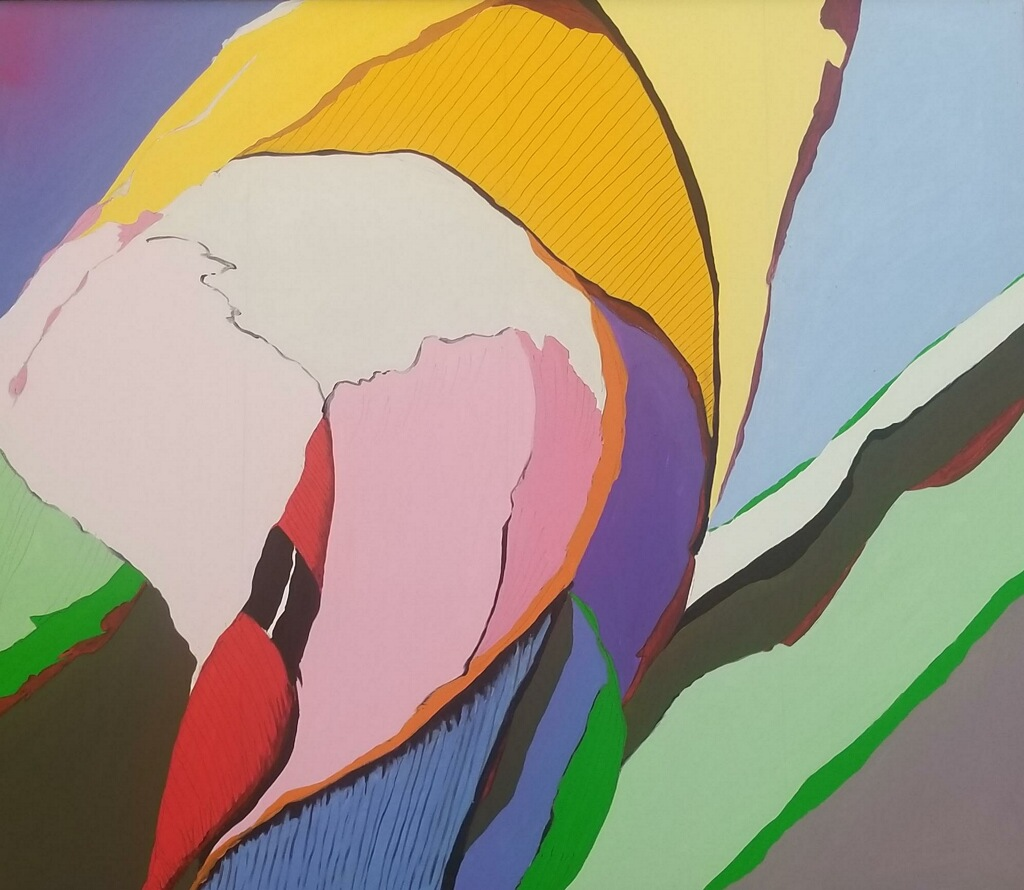 spring growth 58x68 Oil/Canvas