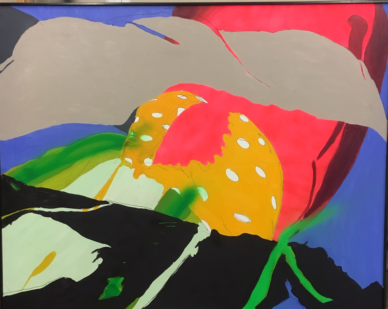 Venus flytrap 58x68 Oil/Canvas