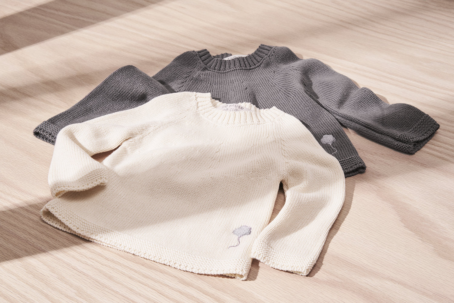 Neel Sweaters in Cumulus Grey and White Cotton.jpg