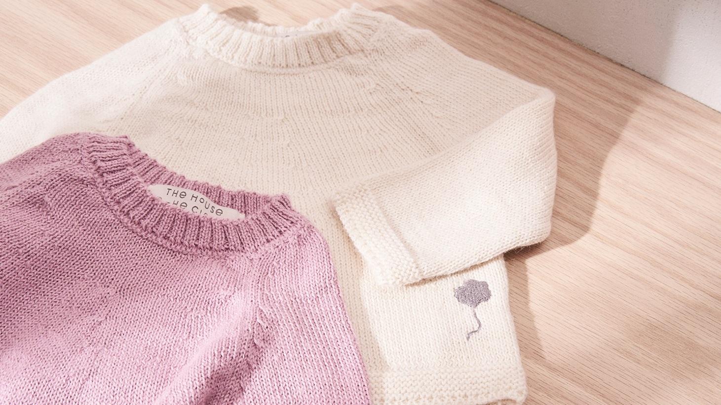 the neel alpaca sweater