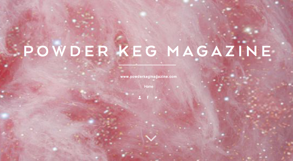 Powder Keg is now on  tumblr !