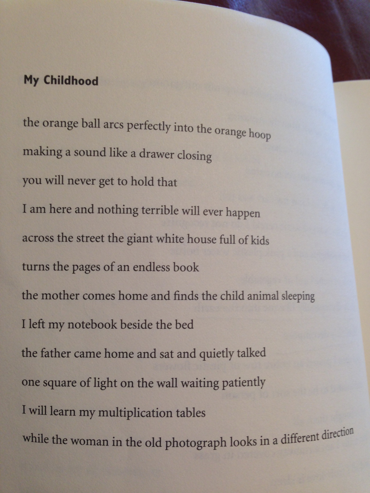 ratrapss :      from Matthew Zapruder's SUN BEAR  ( Copper Canyon Press 2014 )     perfect