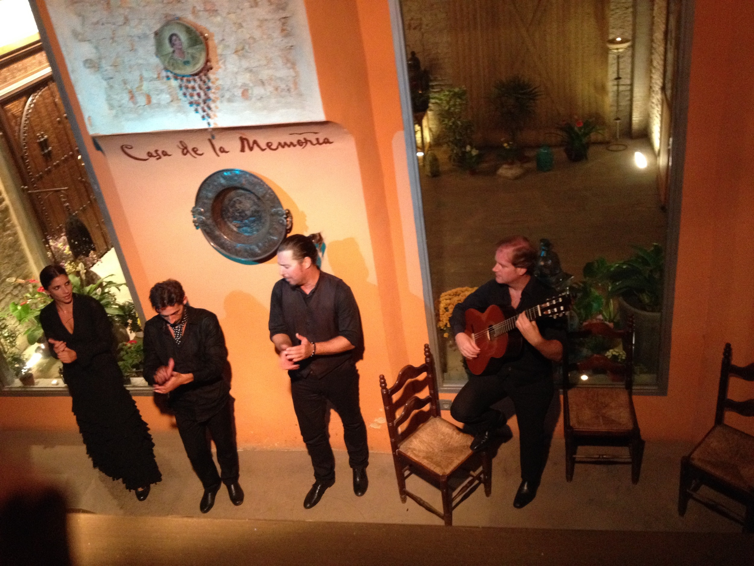 Seeing a flamenco show is a must when you visit Andalucía.