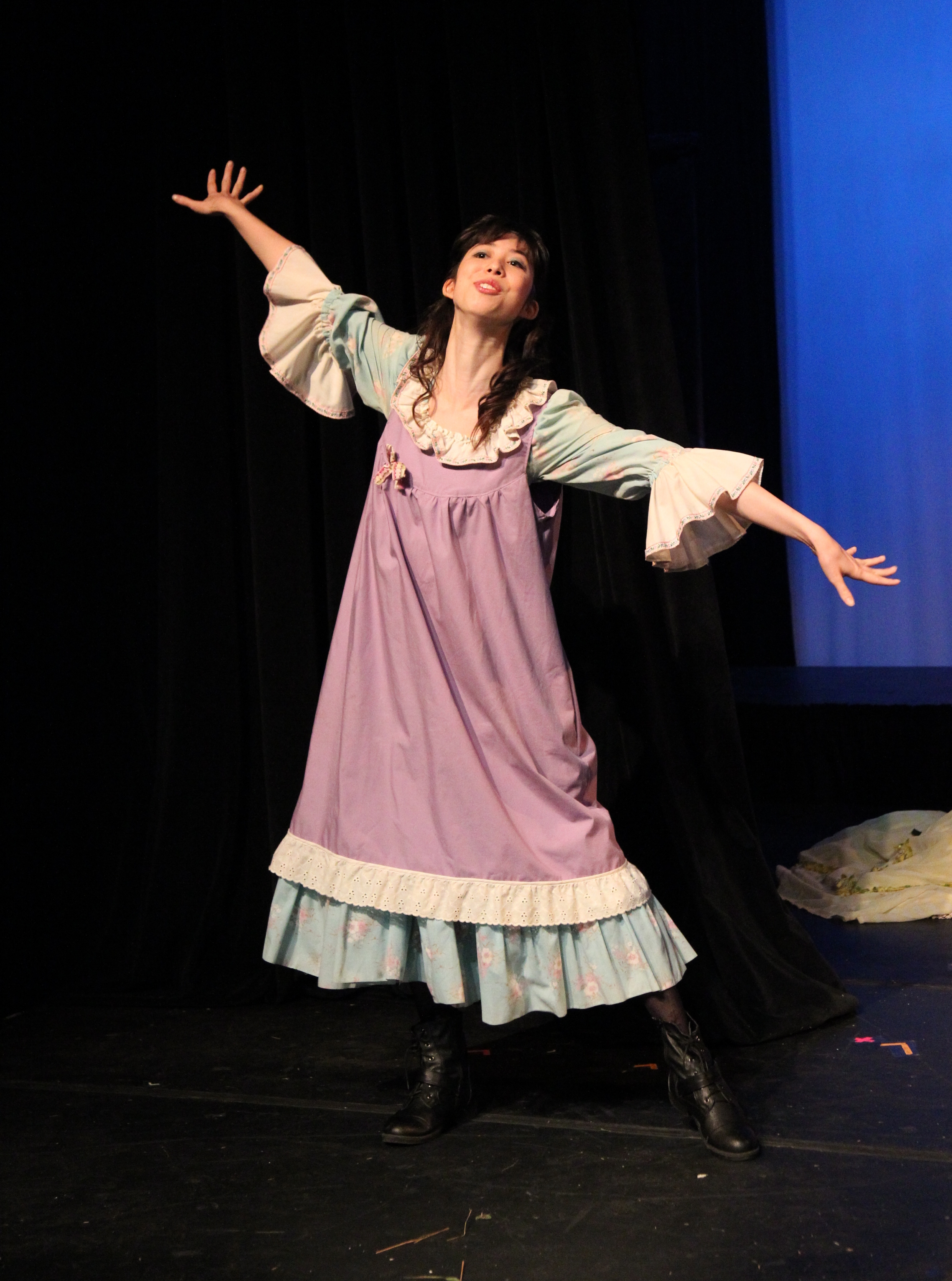 """As Diana Barry in """"Anne of Green Gables"""" (No Strings Theatre, 2013)"""