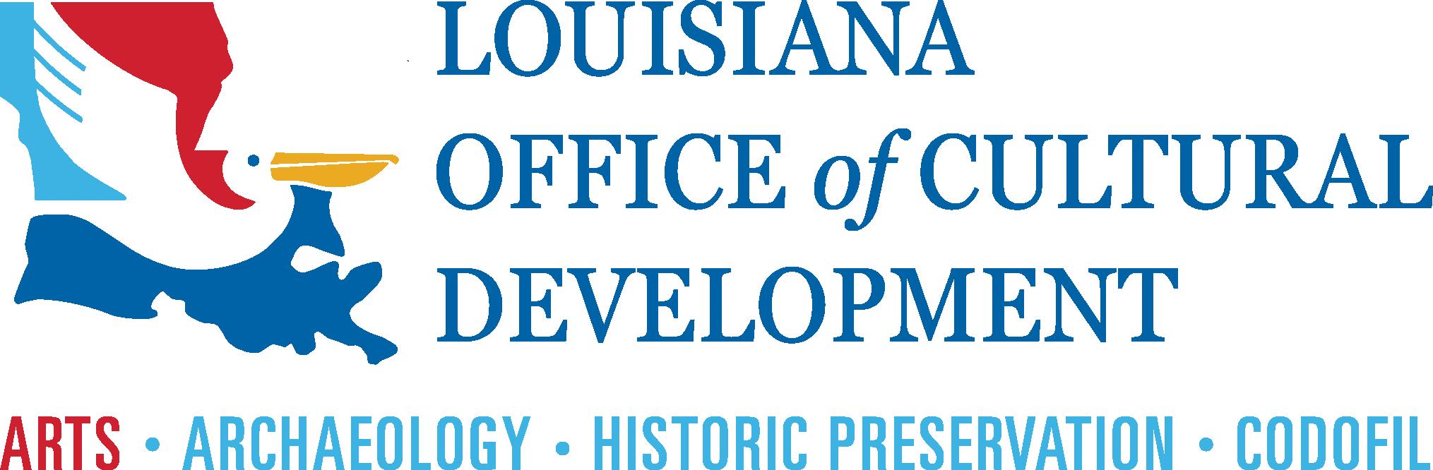 Louisiana Office of Cultural Development logo
