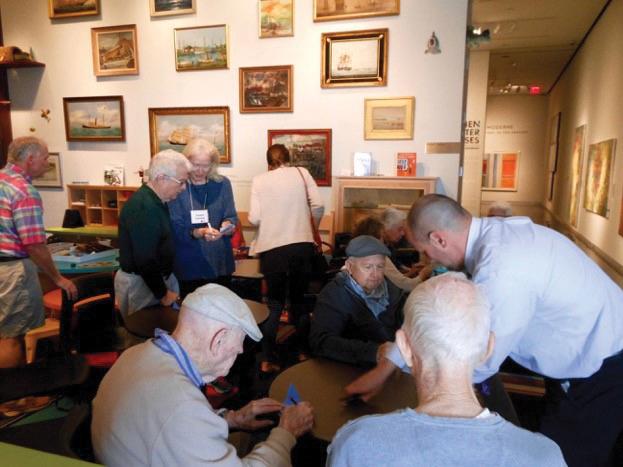Art & Alzheimer's tour at LSU Museum of Art