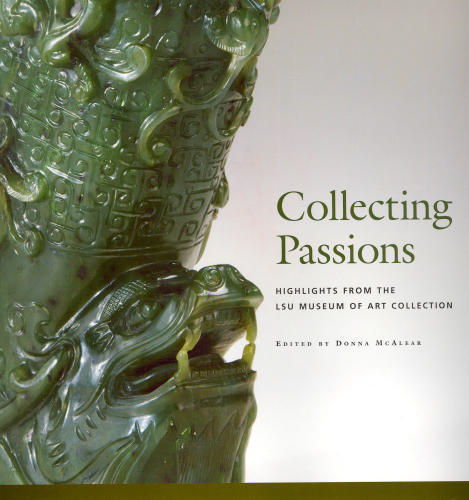 Book cover featuring a jade sculpture