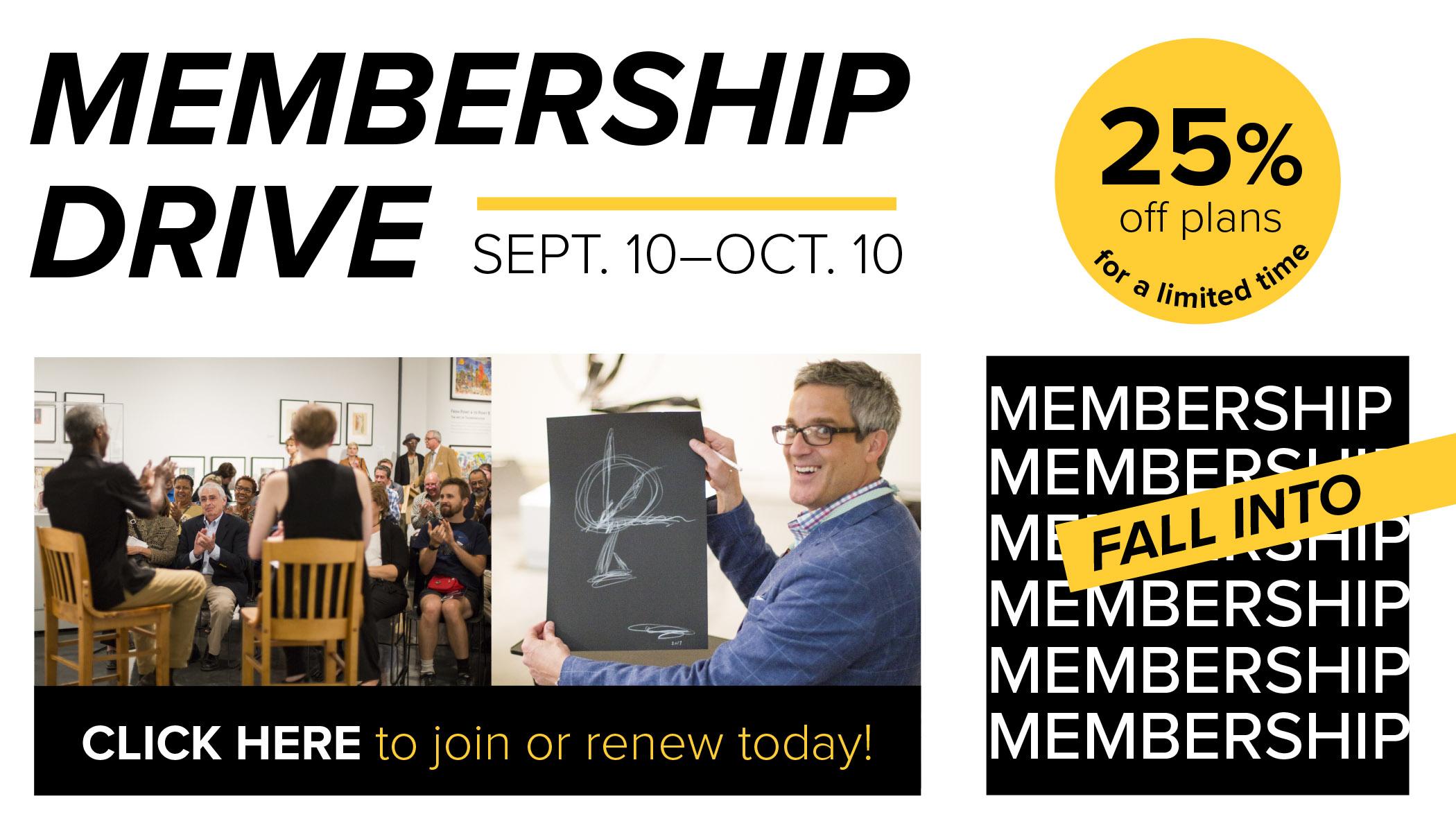 Fall 2019 Membership Drive