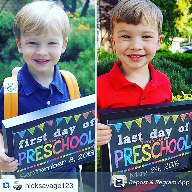 #Repost @nicksavage123 with @repostapp. ・・・ Repost from @jldsavage using @RepostRegramApp - He was always so excited to go to school, from the very first day to the last. Amazing to see how much he grew this year!  Being three is pretty awesome! ❤️ #proudmama