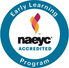 Our program is accredited by the NAEYC Accreditation of Early Learning Programs.