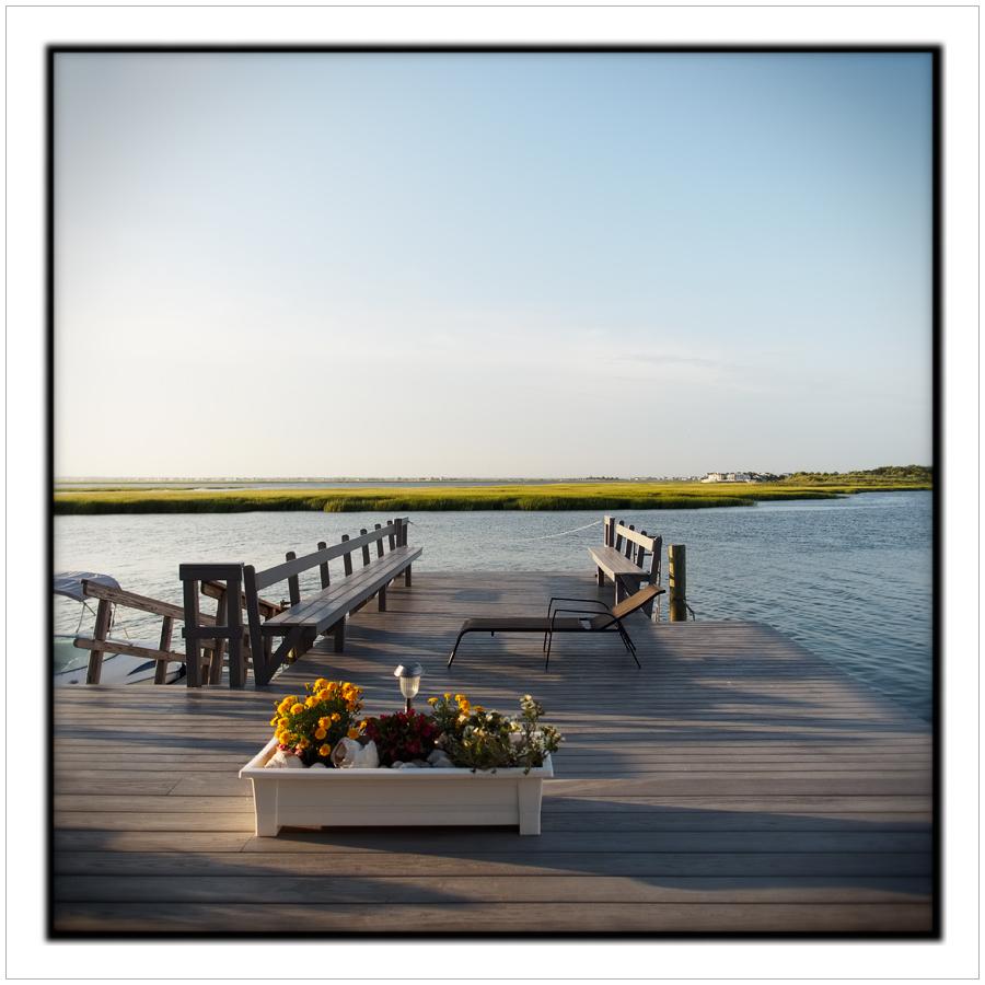 deck flowers   ~ Stone Harbor, NJ