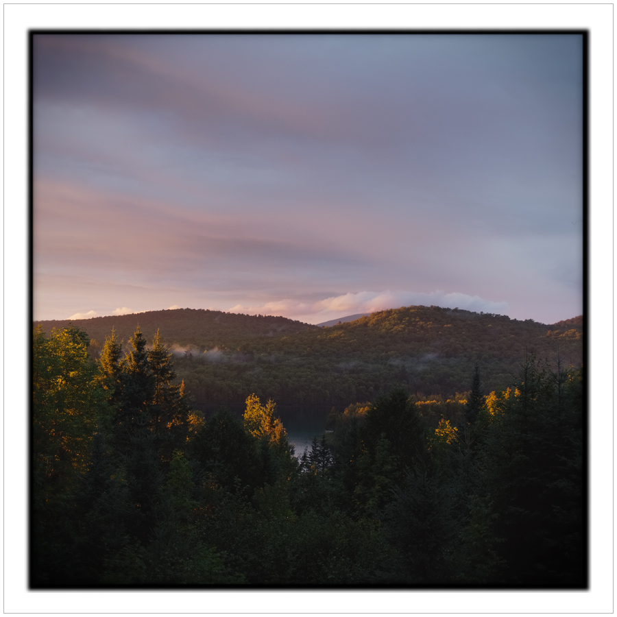 Sunset   ~ RIst Camp / Newcomb, NY - in the Adirondack PARK
